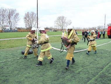 Соревнования Дружин юных пожарных