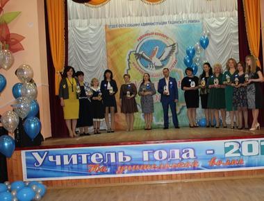 """Открытие районного конкурса """"Учитель года - 2019"""""""